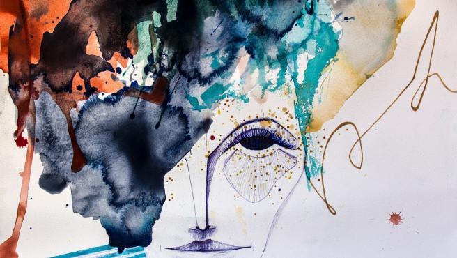Obra 'Al final de la linea yo', de Susana Modrego.