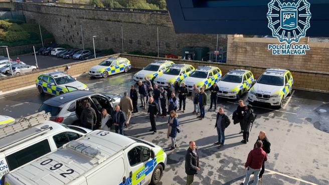 Policía Local de Málaga en una visita a Bratford dentro de un proyecto europeo contra el racismo, la xenofobia y los delitos de odio