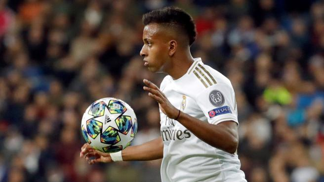 Rodrygo Goes, delantero del Real Madrid.