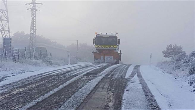 Valladolid. Nieve