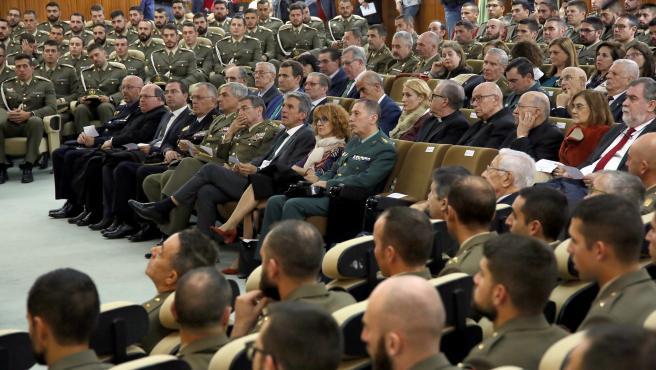 Acto de apertura del curso 2019-2020 de la Academia de Infantería de Toledo.