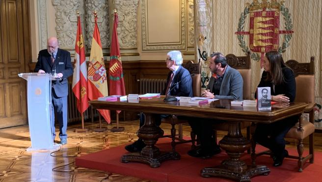 Acto de recepción del archivo personal de Gaspar Núñez de Arce.