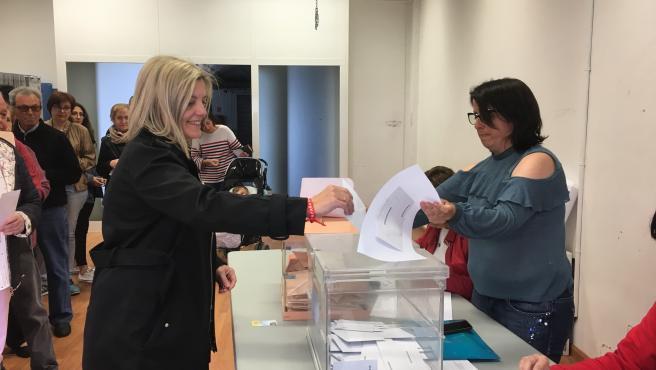 Begoña Nasarre, candidata del PSOE al Congreso por Huesca