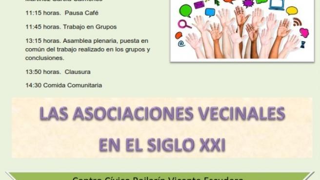 Cartel del VII Foro del Movimiento Vecinal, organizado por la Federación Antonio Kachado.