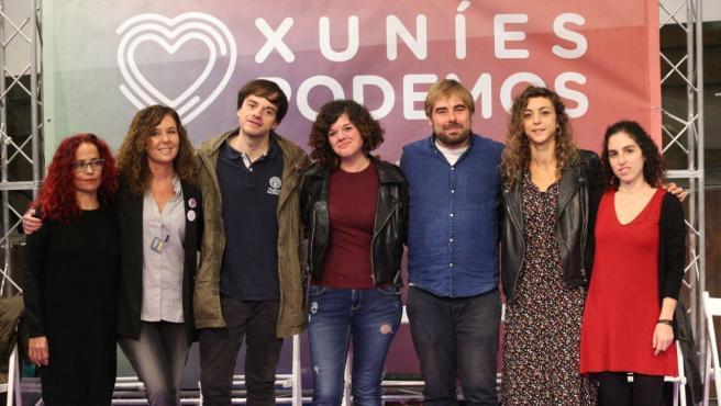 Cierre de campaña de Podemos en Asturias