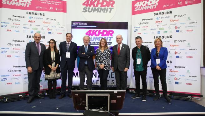 El alcalde de Málaga, Francisco de la Torre, en la clausura de 4k Summit