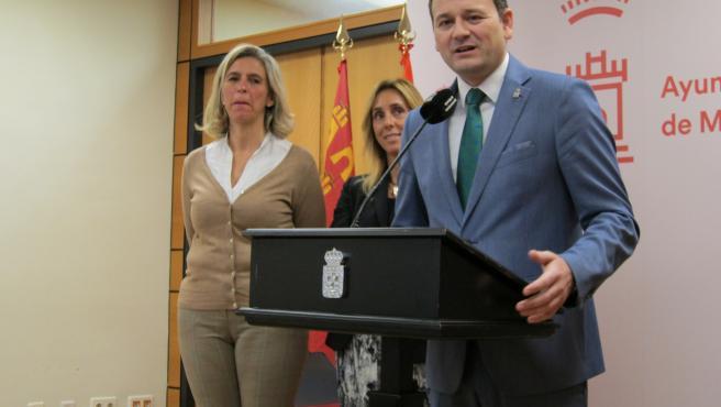 El concejal de Pedanías y Barrios en el Ayuntamiento de Murcia, Marco Antonio Fernández