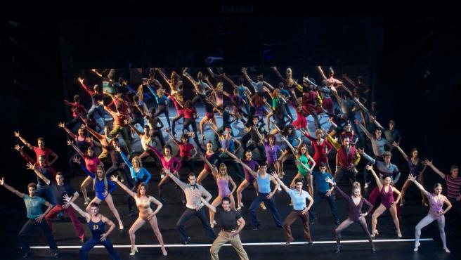 Elenco de 'A Chorus Line', que inaugura el Teatro del Soho de Antonio Banderas