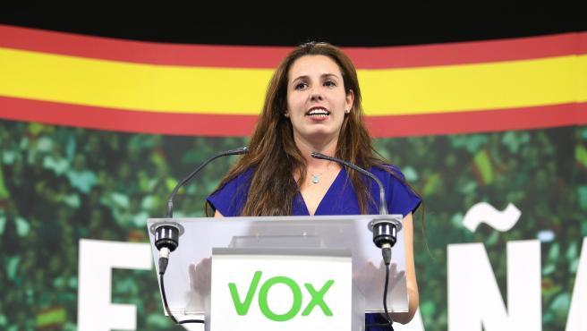 La candidata de Vox al Congreso por Almería, Rocío de Meer