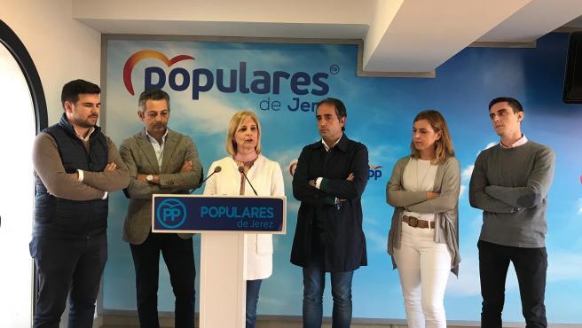 La número 1 del PP de Cádiz al Congreso, María José García-Pelayo.