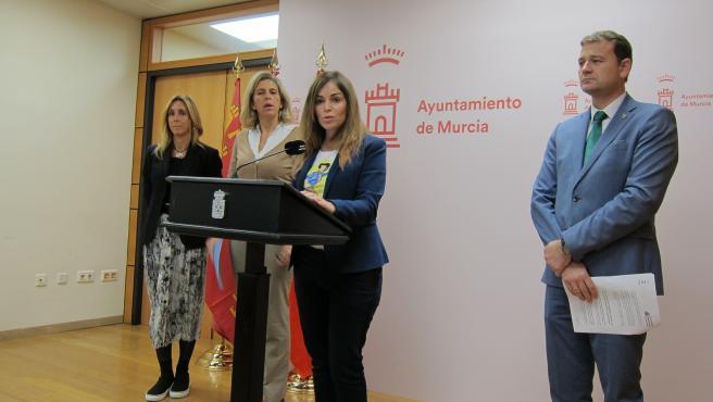 LA PORTAVOZ DEL GOBIERNO REGIONAL, REBECA PÉREZ DA CUENTA ACUERDOS JUNTA DE GOBIERNO