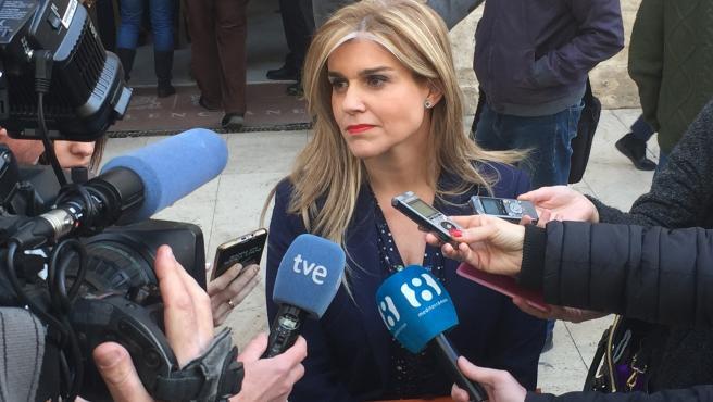La secretària general del Partit Popular de la Comunitat Valenciana, Eva Ortiz,