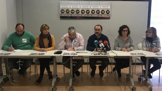 Los sindicatos de educación reivindican los derechos de los docentes