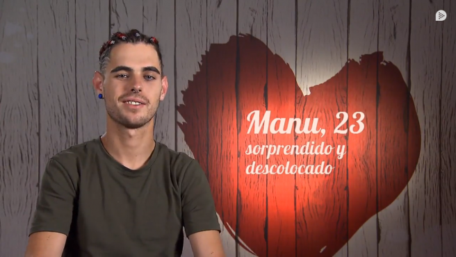 Manu, en 'First dates'.