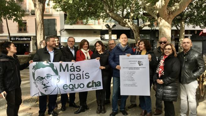 Más País-CHA-Equo en el mensaje de fin de campaña