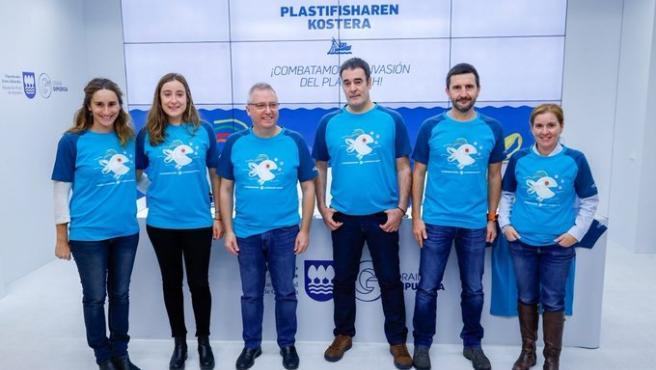 """Presentación de la iniciativa """"Plastifisharen Kostera"""""""