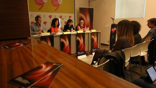 Presentación de la Muestra de Teatro Español de Autores Contemporáneos.