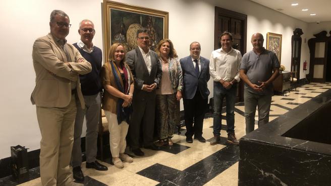 Reunión del jurado de los premios 'Tenerife Rural'