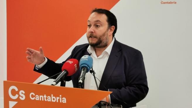 Rubén Gómez candidato de Cs al Congreso por Cantabria el 10N