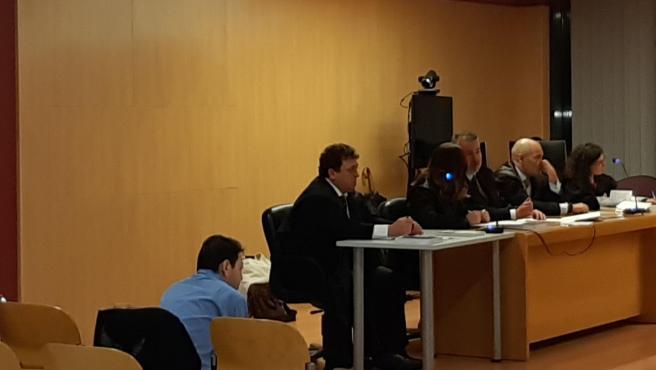 Sesión de lectura del veredicto del juicio por la muerte de Silvia Hernández