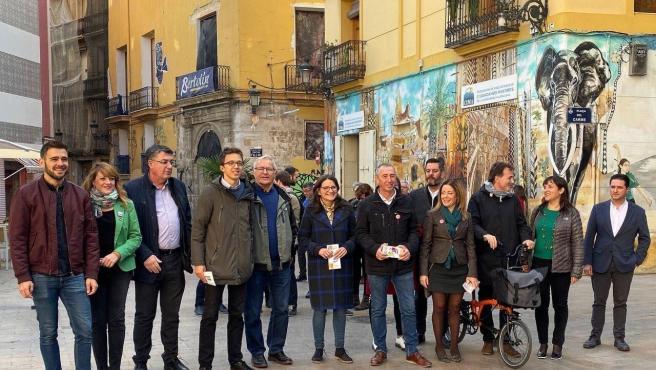 Tancament de campanya de Més Compromís a València, amb Íñigo Errejón.