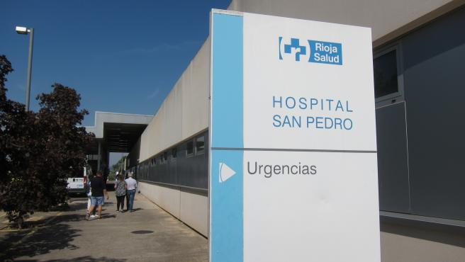 Urgencias del hospital San Pedro de Logroño