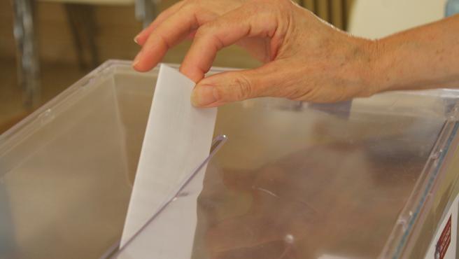 Urna votación (ARCHIVO)