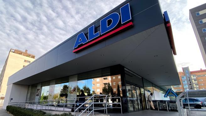 Imagen de archivo de un supermercado Aldi.