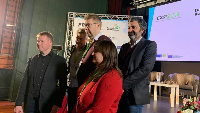 Clausura del IV Parlamento Rural Europeo, organizado por la Red Asturiana de Desarrollo Rural (Reader)