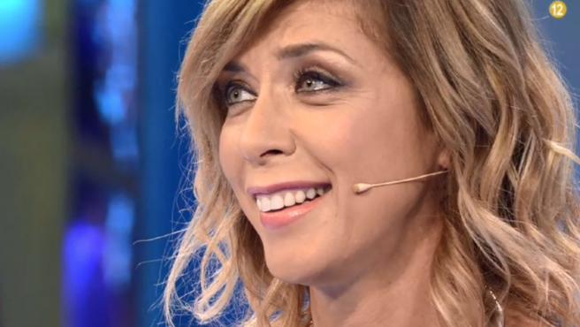 La actriz Eva Isanta, en 'Volverte a ver' (Telecinco).