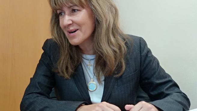 La candidata del PP al Congreso por Asturias, Paloma Gázquez.