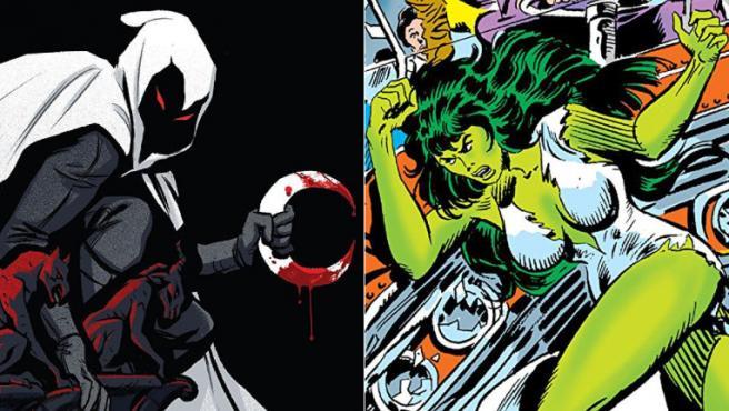 Las series de Marvel 'Caballero Luna' y 'She Hulk' ya tienen guionista