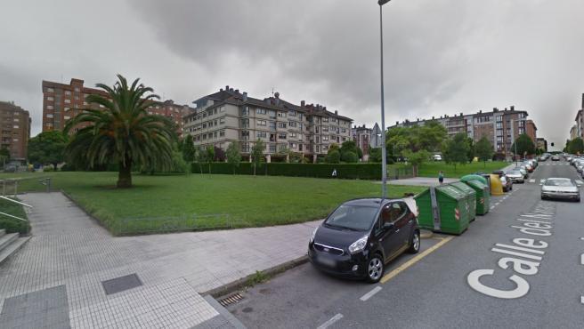 Imagen de una calle del barrio de Nuevo Gijón.