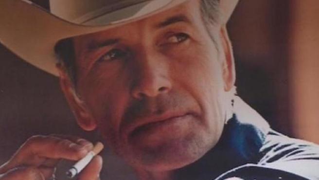 Robert Norris, en un antiguo anuncio de Marlboro.