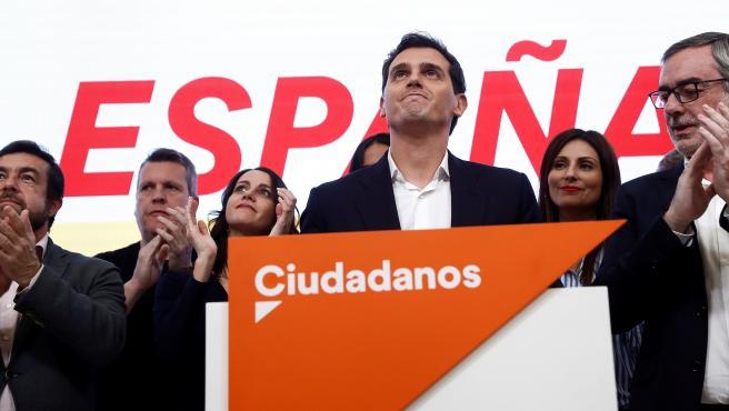 Albert Rivera dimite tras el mal resultado en las elecciones generales del 10-N