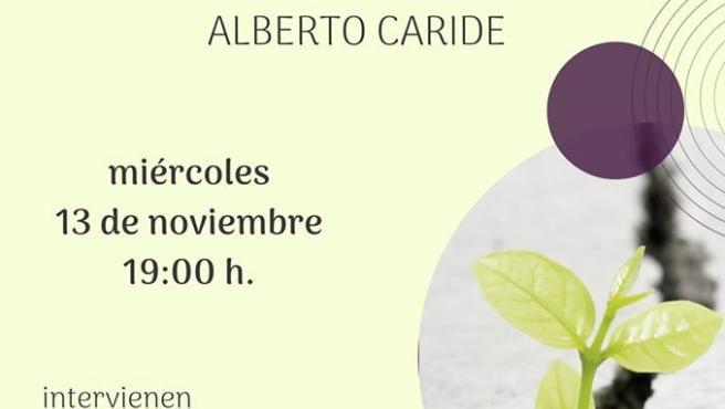 Cartel de la presentación del poemario