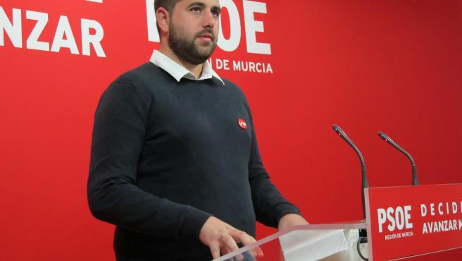 El secretario de Organización del PSRM-PSOE, Jordi Arce, realiza primera valoración tras cerrarse los colegios electorales