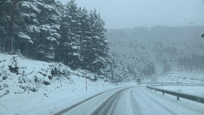 La nieve ya ha llegado a La Rioja