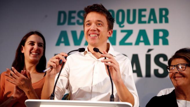 Íñigo Errejón comparece tras las elecciones del 10N.