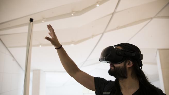 Realidad virtual en la exposción 'Galicia, un relato no mundo'