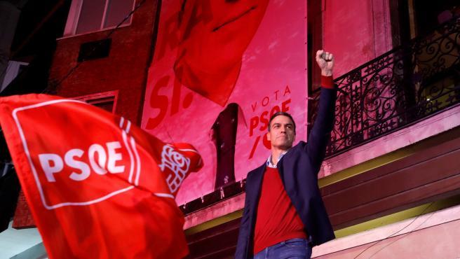 Pedro Sánchez, en Ferraz tras el 10-N
