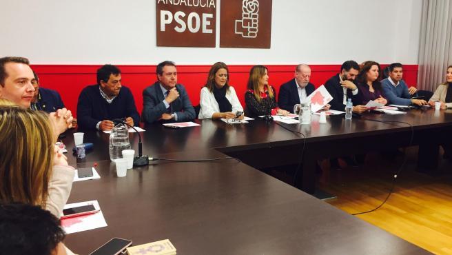 Ejecutiva del PSOE de Sevilla