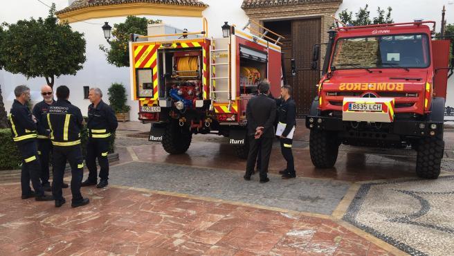 El Ayuntamiento de Marbella anuncia un plan de modernización del servicio de Bomberos