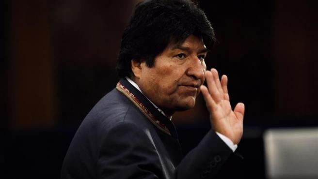 El presidente de Bolivia, Evo Morales, durante la Cumbre del Clima 2019, en Nueva York.