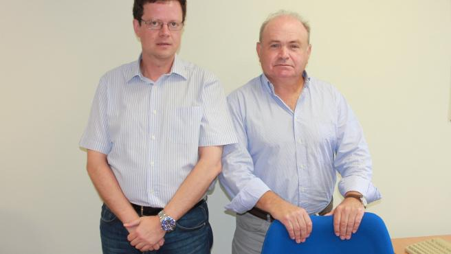 Fernando Sánchez Lasheras y Manuel José Fernández Gutiérrez.