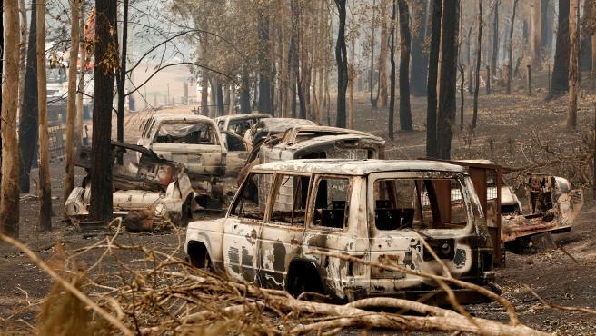 Consecuencias del incendio en Australia.