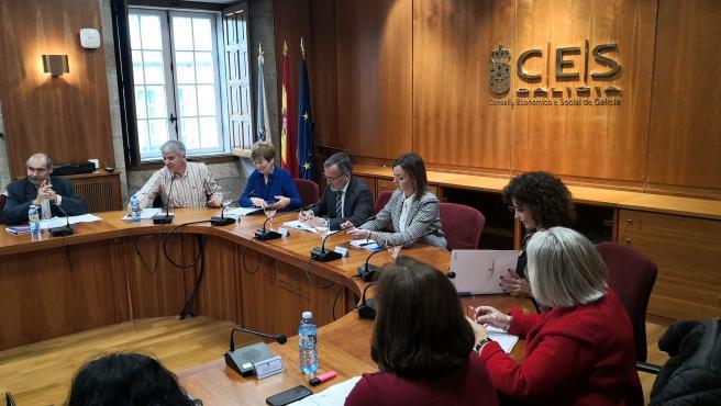 La conselleira preside el Observatorio Galego de Dinamización Demográfica