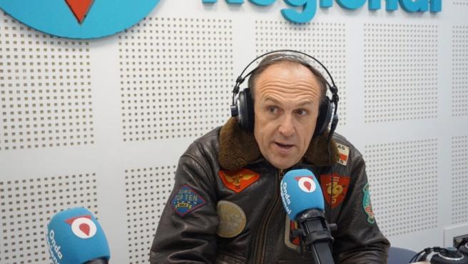 Luis Gestoso (VOX) en la entrevista en Onda Regional