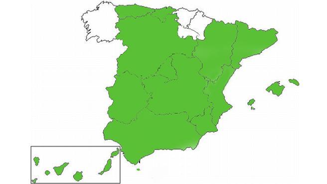 mapa de vox