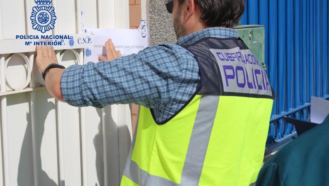 Policía Nacional cierra un prostíbulo en la pedanía murciana de Zarandona
